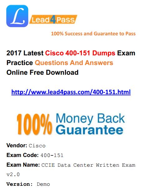 400-151 dumps