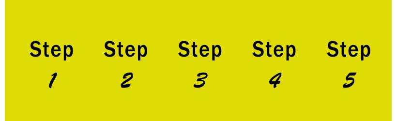 5 steps exam