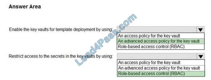 lead4pass az-301 exam questions q-1