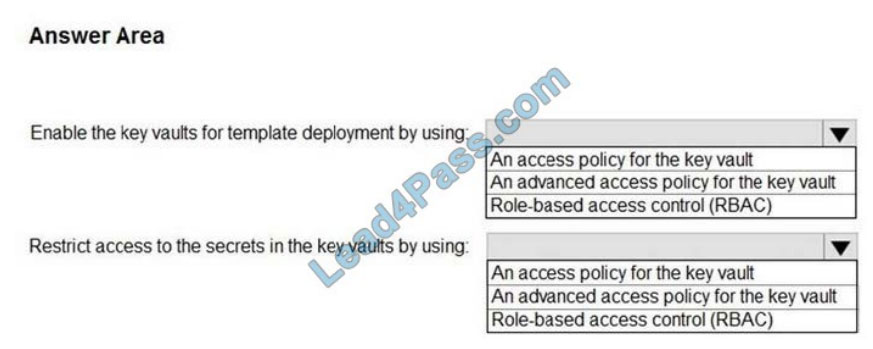 lead4pass az-301 exam questions q2