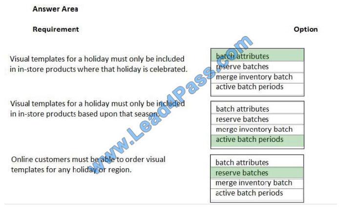 lead4pass mb-320 exam questions q3-1
