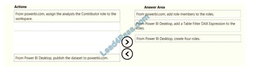 lead4pass da-100 exam questions q10-1