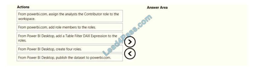 lead4pass da-100 exam questions q10