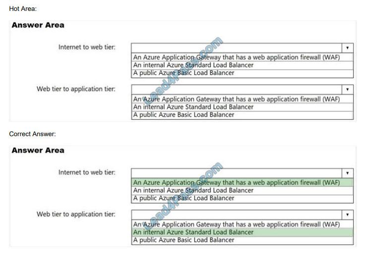 lead4pass az-303 exam questions q11
