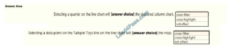 lead4pass da-100 exam questions q3-1