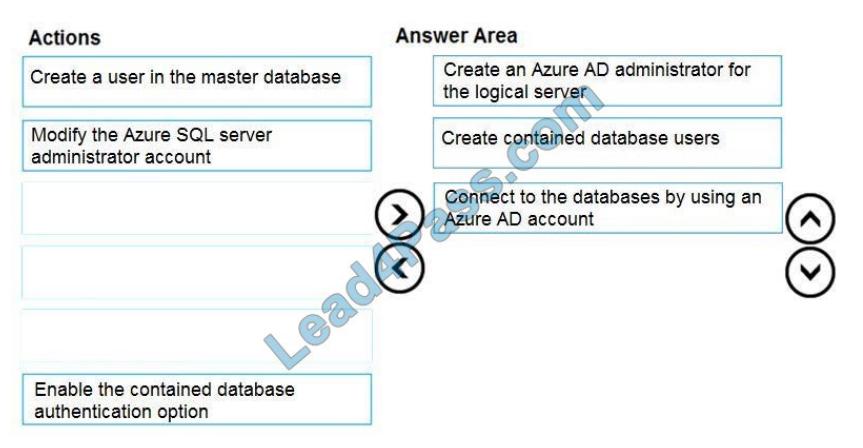 lead4pass dp-300 exam questions q5-1