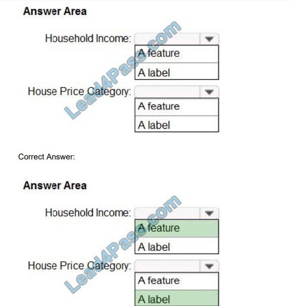 lead4pass ai-900 exam questions q10-1