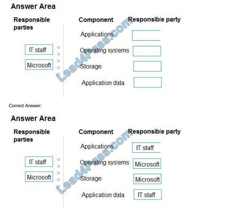 lead4pass ms-900 practice test q10