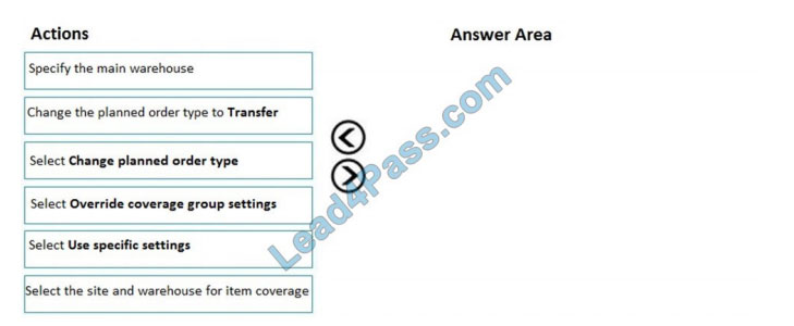 lead4pass mb-330 practice test q11
