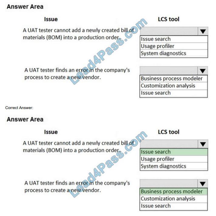 lead4pass mb-300 practice test q13