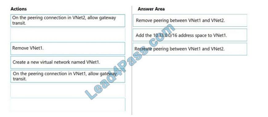 lead4pass az-303 practice test q2-2