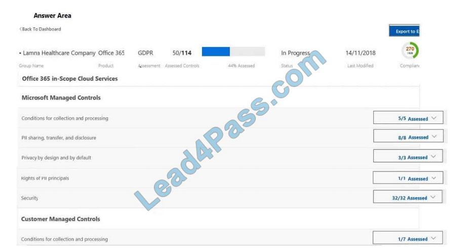 lead4pass ms-900 practice test q5