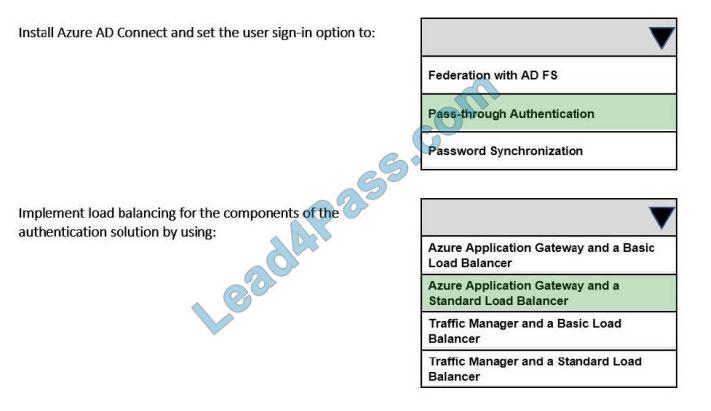 lead4pass az-304 exam questions q6-1