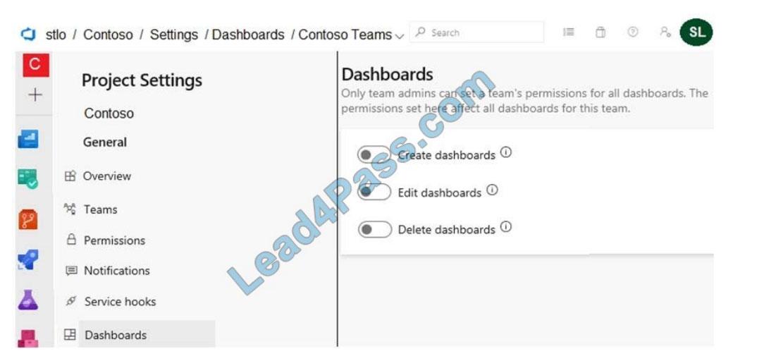 lead4pass az-400 exam questions q6-1