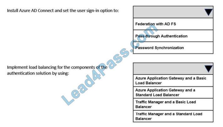 lead4pass az-304 exam questions q6