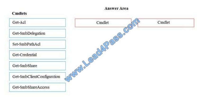 lead4pass 70-743 practice test q7