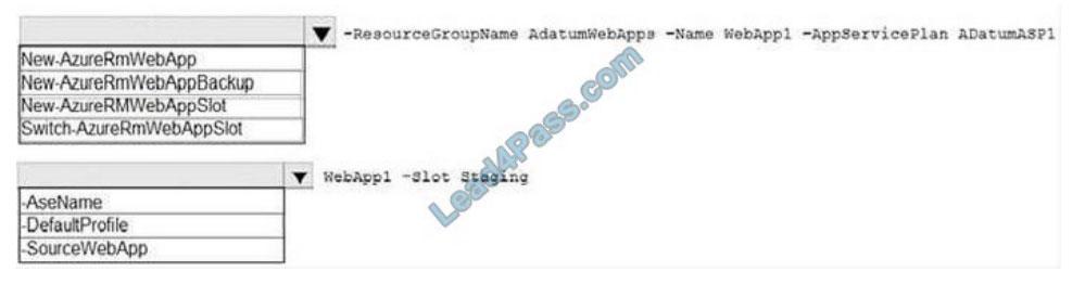lead4pass az-104 practice test q10  2021