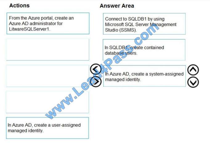 lead4pass az-500 practice test q11-1