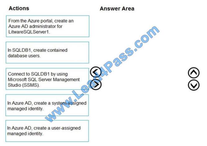 lead4pass az-500 practice test q11