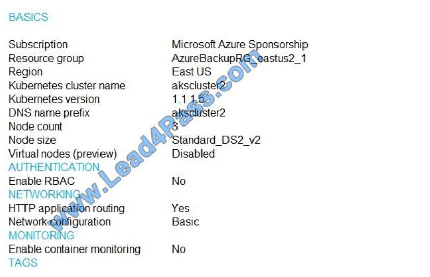 lead4pass az-500 practice test q6