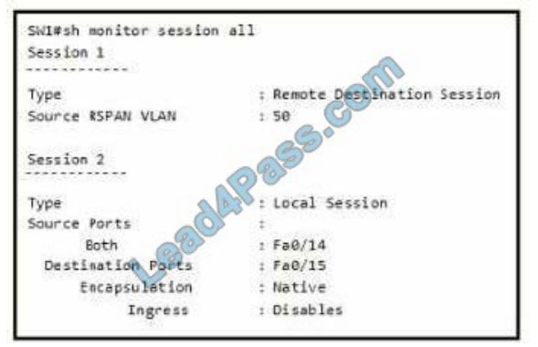 [2021.2] lead4pass 350-401 practice test q13