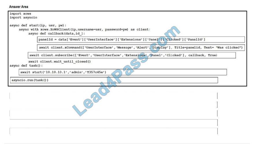 [2021.2] lead4pass 300-835 practice test q6-1