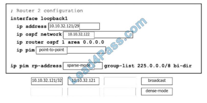 [2021.2] lead4pass 350-601 practice test q6-2