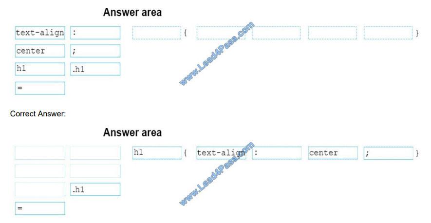 lead4pass 98-383 practice test q4