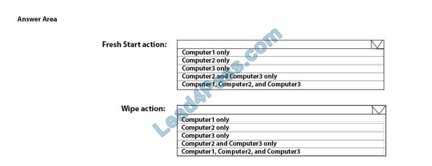 [2021.3] lead4pass md-101 practice test q5-1