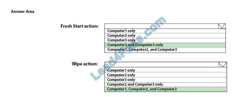 [2021.3] lead4pass md-101 practice test q5-2