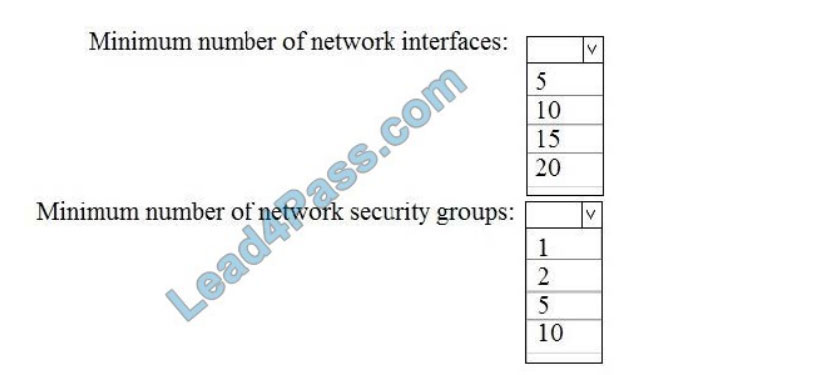 [2021.3] lead4pass az-303 practice test q5
