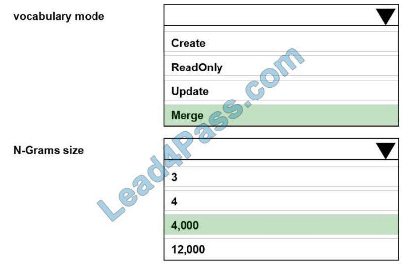 [2021.3] lead4pass dp-100 practice test q7-1