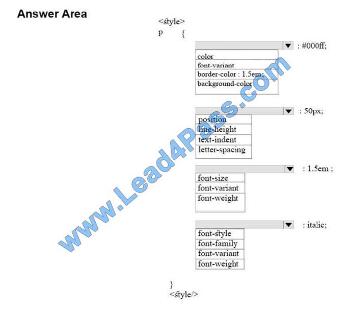 lead4pass 98-383 practice test q7-1