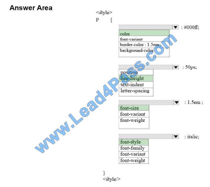 lead4pass 98-383 practice test q7-2