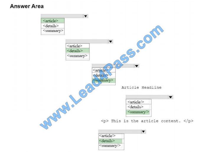 lead4pass 98-383 practice test q8-2