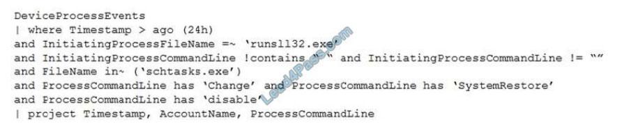 microsoft sc-200 certification exam q13