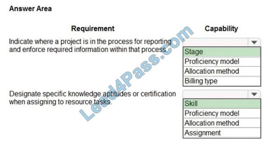 microsoft mb-920 certification exam q8-1