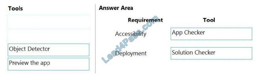 microsoft pl-100 exam questions q7-1