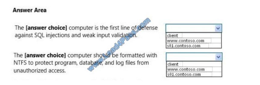 microsoft 98-364 exam questions q9-1