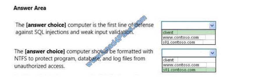 microsoft 98-364 exam questions q9-2