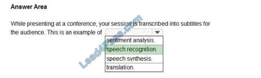microsoft ai-900 exam questions q10-1