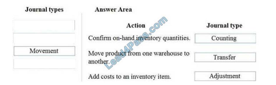 microsoft mb-330 exam questions q10-1
