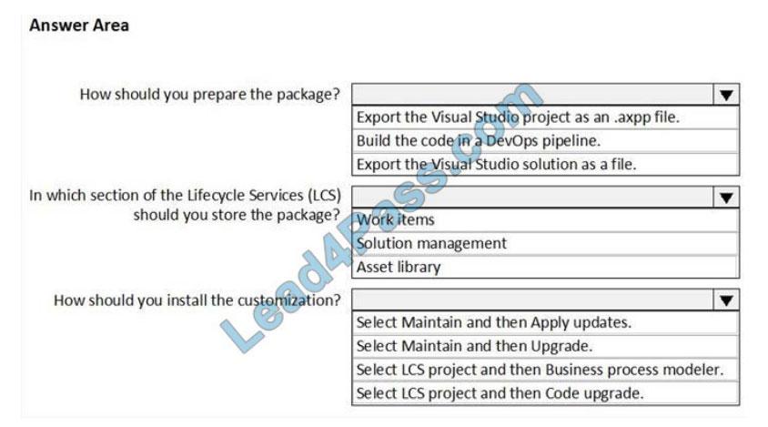 microsoft mb-500 exam questions q13-1