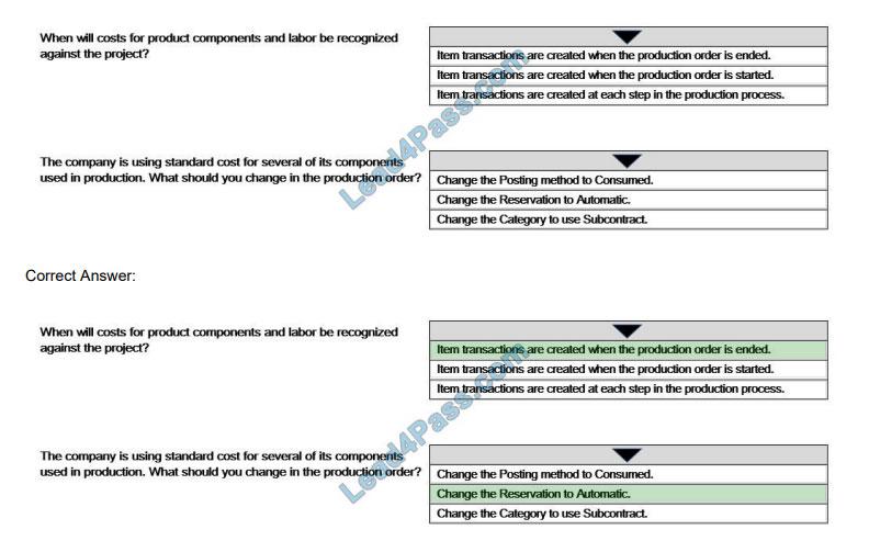 microsoft mb-320 exam questions q5-1