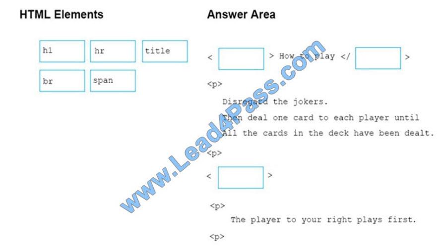 microsoft 98-383 exam questions q8-1