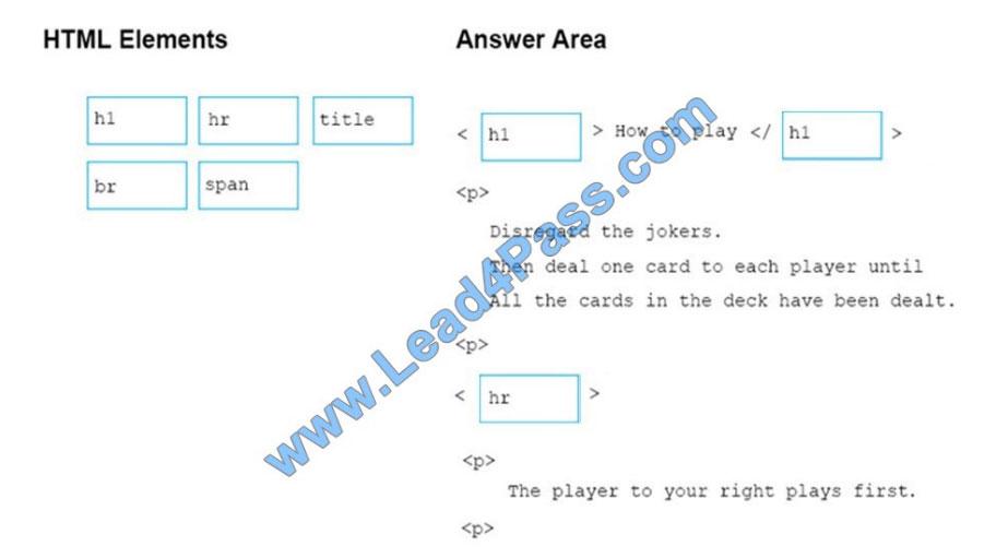 microsoft 98-383 exam questions q8-2